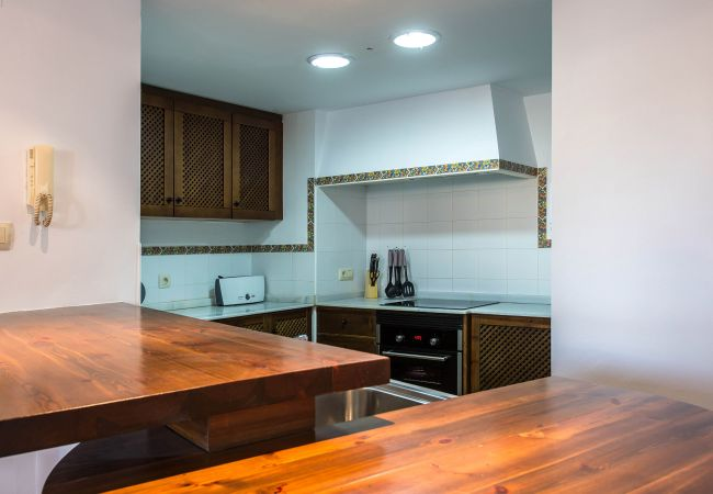 American Kitchen of an apartment in Torrevieja.