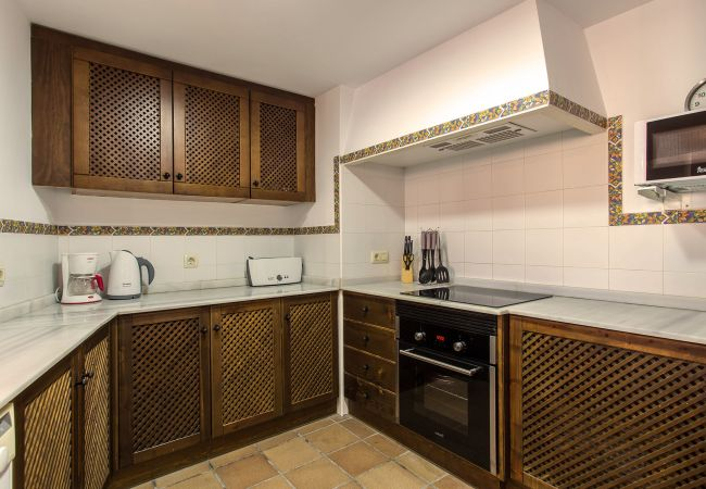 Kitchen of an apartment in Torrevieja